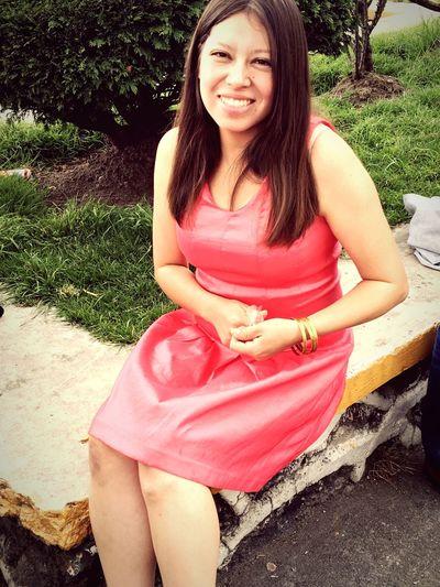 Sonrisita Sonrisa Smile Woman Dress Pink Mujer Vestido  Rosa Pretty Girl Pretty Woman Mujereslindas
