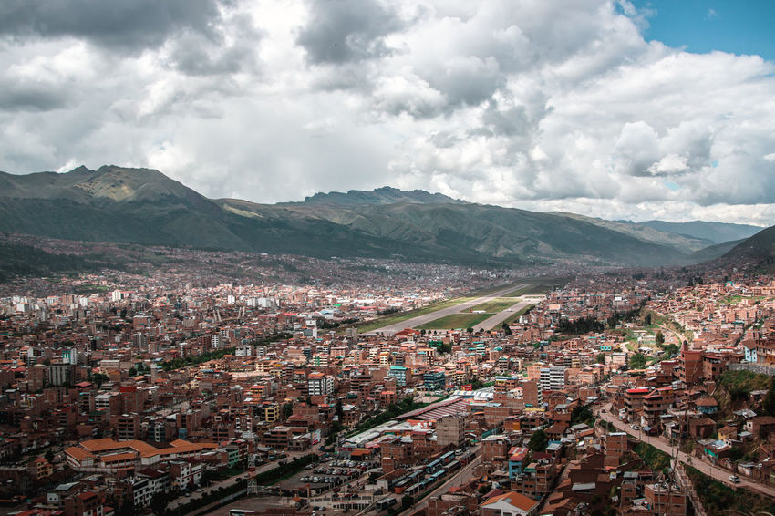 The beautiful view over Cusco. Andes Backpacking City Cityscape Exploring Inca Latin America Aerial View Airport Architecture City Cityscape Colonial Community Crowded Day Discover  High Angle View Outdoors Residential District South America TOWNSCAPE Travel Destinations Urban Urban Sprawl The Great Outdoors - 2018 EyeEm Awards The Traveler - 2018 EyeEm Awards