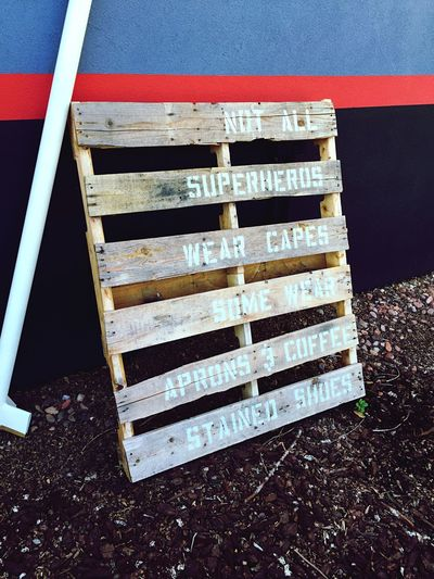 Coffee Wood Pallet SignSignEverywhereASign Signage coffee Espressohouse Espresso Coffe Apron Coffee Stained Shoes