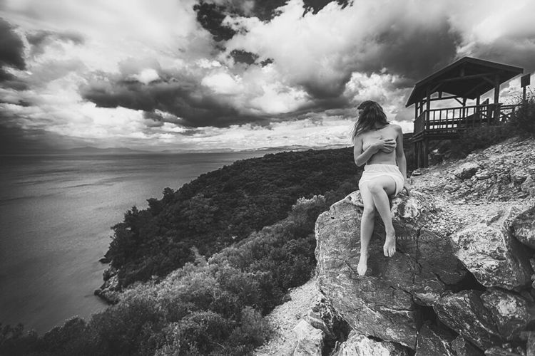 Dione / Dilek Peninsula Nature and Wildlife Park Kuşadası Aydın Turkey Nature art Implied Turkey Bw black White bnw Clouds Clouds And Sky Cloudporn First Eyeem Photo Ig_europe Girl Longhair Cute Turkey Boudoir Glamour Landscape Beauty