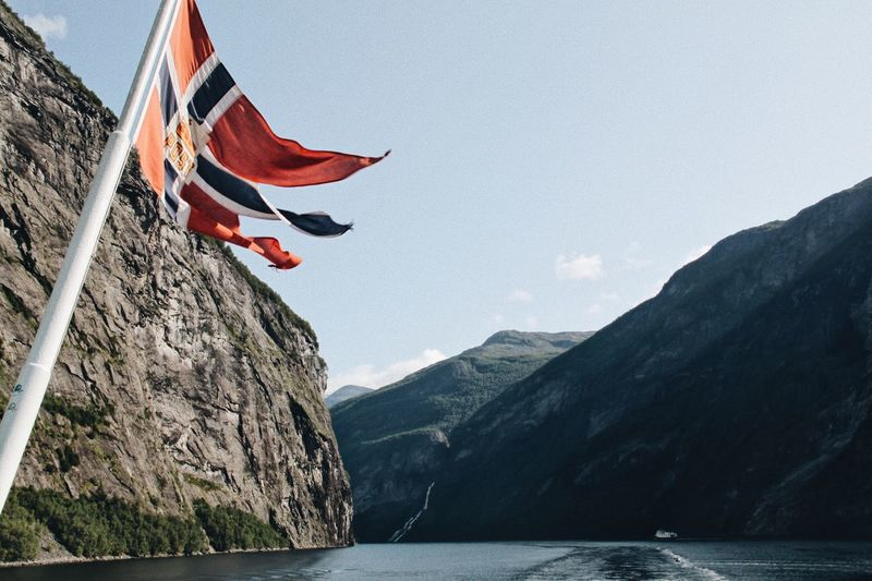 a few more from Norge Flag Day Wind Mountain Rock - Object Outdoors Nature Scenics Beauty In Nature Sea Sky Water No People Colors