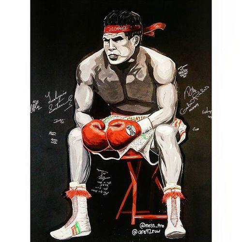 El campeón. HERO Juliocesarchavez Boxing