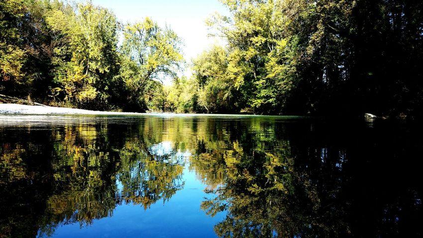 Riflessi autunnali Reflections River Fiume Autumn Natisone Udine Friuliveneziagiulia Friuli Venezia Giulia Italia