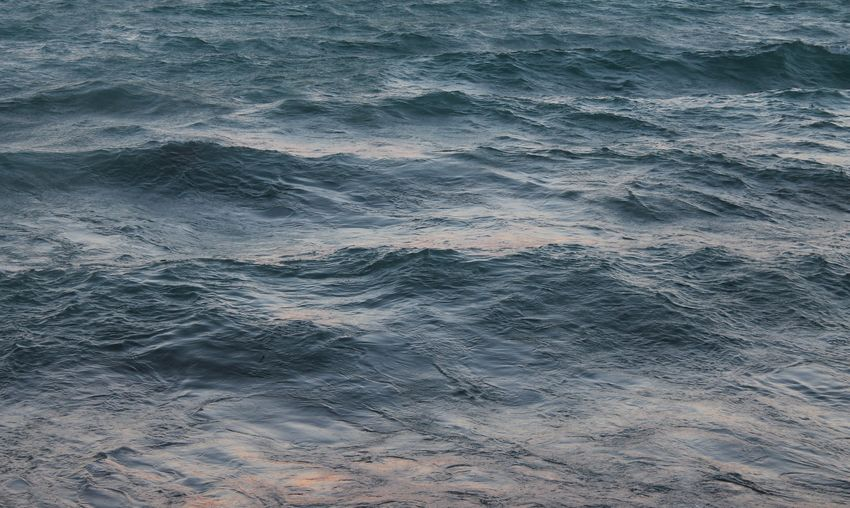 Water at sunset
