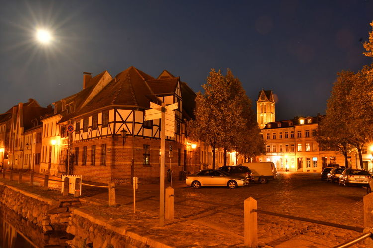 Zu Besuch in Wismar Langzeitbelichtung Long Exposure Long Exposure Night Photography Wismar Mecklenburg-Vorpommern Germany Deutschland Altstadt