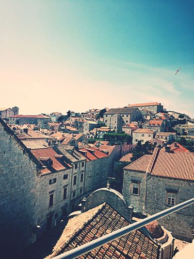 Dubrovnik Croatia 🇭🇷 Dubrovnik Dubrovnik, Croatia Croatia Architecture Oldtown No People House Cityscape Clear Sky City Tiled Roof  Eastern Europe Adriatic Sea EyeEm Nature Lover EyeEm Best Shots EyeEm Gallery EyeEm Selects