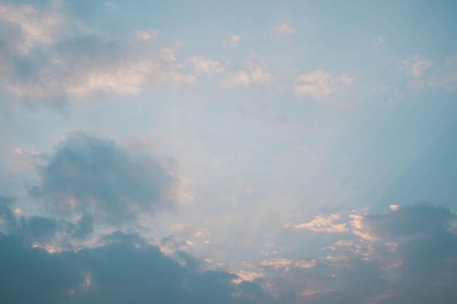 sky Fujifilm X-E2 Sky And Clouds Fujifilm Fujifilm_xseries Heaven Low Angle View Nautural Beauty Outdoors Sky Sunset Tranquility