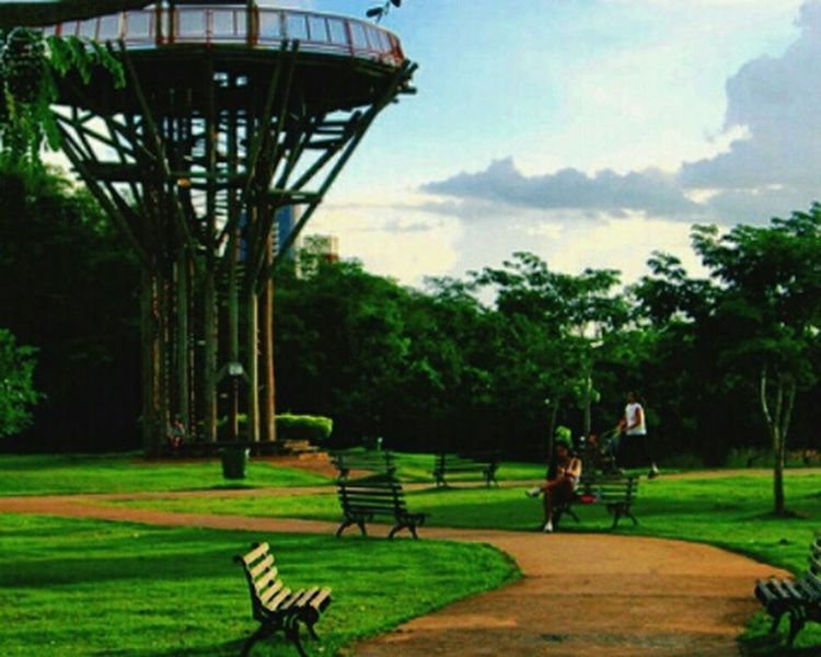 Cuiabá Peace ✌ Urban Nature Cuiabacool Vista Do Mirante Parque Mãe Bonifácia