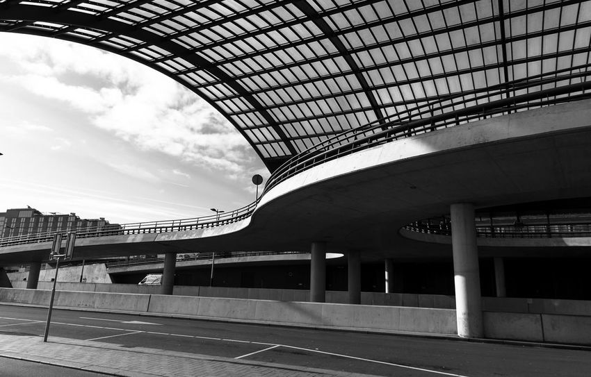 Architecture_collection EyeEm Best Shots Blackandwhite Netherlands Cityscape Amsterdamcity Amsterdam Architecture Built Structure Day Architectural Column Indoors  No People Building Exterior Modern