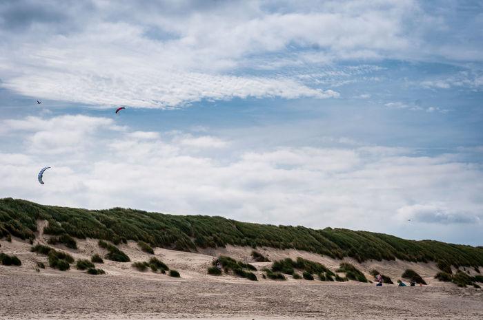 Adventure Ameland Beach Beauty In Nature Cloud - Sky Coast Day Dunes Flying Landscape Nature Nature Netherlands Outdoors Rocks Scenics Sky