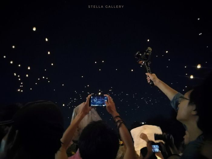 #StellaGallery #chiangmai Wireless Technology Photographing Smart Phone Portable Information Device Mobile Phone Photography Themes Arms Raised