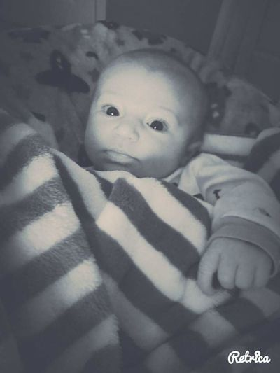 Say night night sweet boy <3 Baby Boy Blackandwhite Adorable Sterling Mother Son