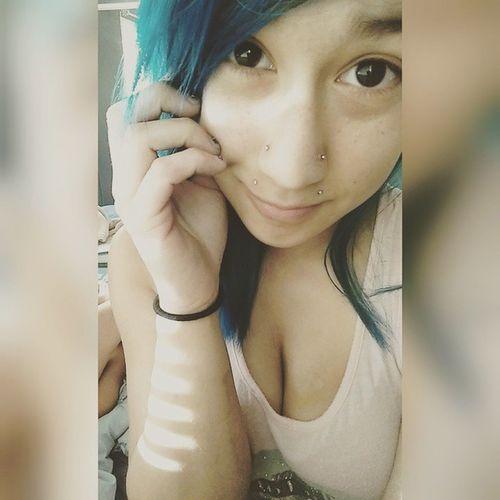 Me and My Glossy Eyes! Angelbites Nosepiercing Glossyeyes Aquamarine Thelittlemermaid Mikuhatsune Animecharacter