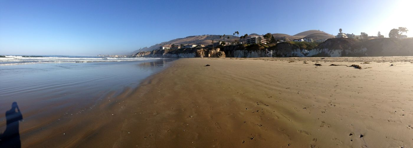 Early Morning at Pismo Beach Panorama