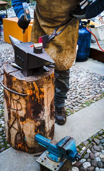 EyeEmNewHere Blacksmith working iron at the Christmas market in Trento City Outdoors Travel Tourism Blacksmith, Work, Holidays, Trento, Iron, Tools, Anvil, Hammer, Home, Parties, Market