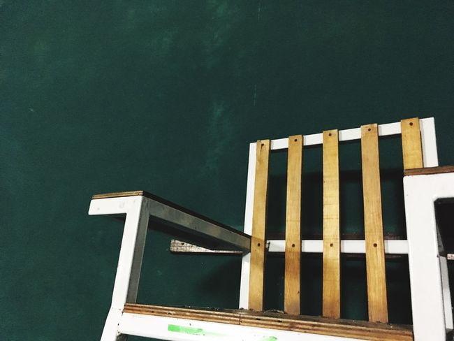 Sport Architecture Green Chair Dark White WoodChair Cute