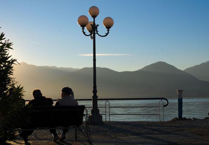 Iseo Lake Italia Italy La Lago D'Iseo Landscape Lombardia Pisogne Sunrise Tramonto Tranquility