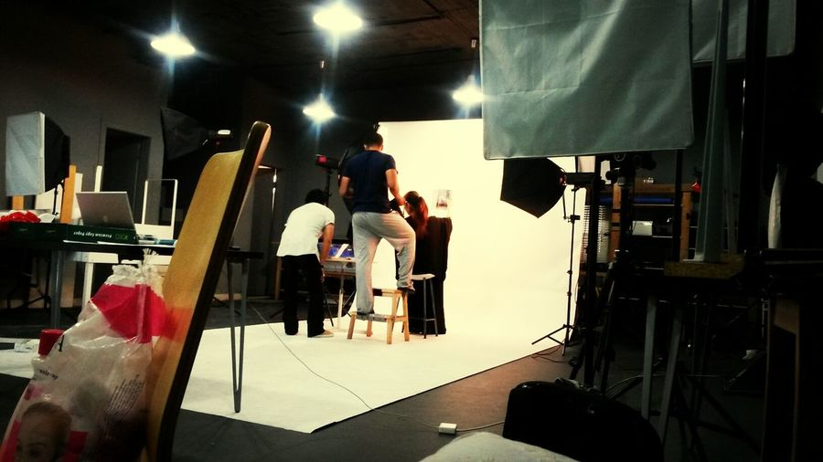 while shooting ikea photosession