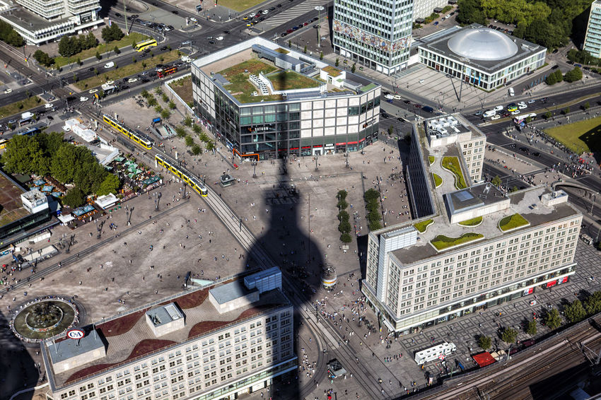 Architecture Berlin Building Exterior Built Structure City Cityscape High Angle View Light And Shadow Shadow Tower Urban Geometry Urban Landscape Urban Poetry The City Light