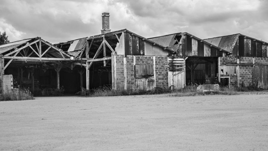 Abandoned Abandoned Places Architecture Built Structure Cloud Cloud - Sky Cloudy Damaged Day Destroyed Destruction Deterioration Exterior Factory Landscape Nature No People Obsolete Old Outdoors Overcast Run-down Sky Urbex Weather