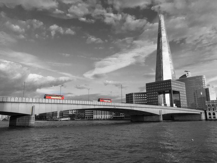 London bridge and London bus London London Bridge London Bus Road Trip! London Trip London Souvenir Souvenir Beautiful Day London Bridge Station Hop On Hop Off London Town London Tourism Shard London Bridge Shard In The Distance... Shard Of Glass Oyster  Travel Photography IPhoneography Passion Photographer Black And White Black And Color For Sale Transportation Mode Of Transport