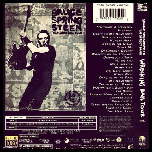 Springsteenfans Brucespringsteenfans Springsteen Brucespringsteen rio rockinrio liveinrio theboss cover bluray
