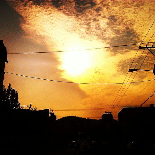 Sun Días Raros... Beautiful ♥ PAISAJE URBANO Omg *.* Humo E Incendios