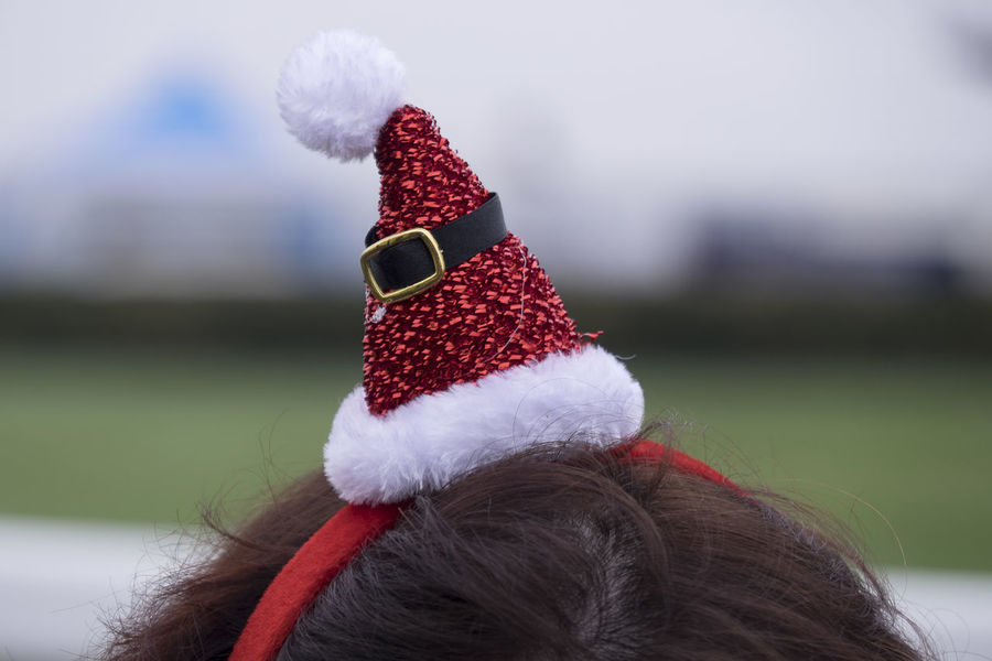 Santa hat headband Christmas Christmas Clothing Christmas Hat Christmas Holidays Close-up Santa Hat