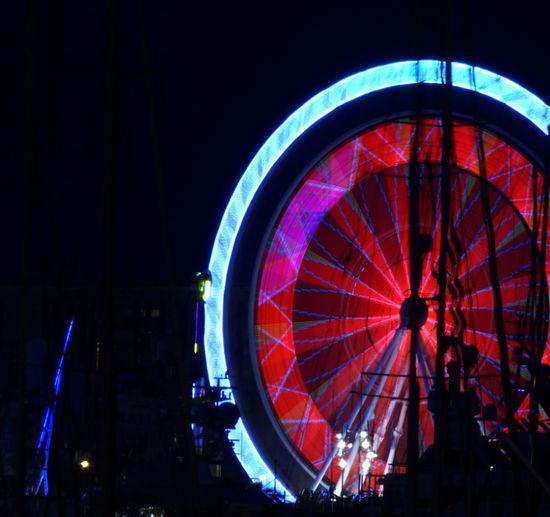 Treadmill Noria Nightphotography Nigthlight Festival
