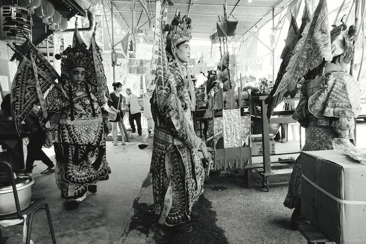 Monochrome Photography Chinese Opera