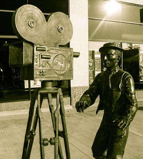 Cameraman Sculpture Bronze Statue Cameramen Statues And Monuments No People Day