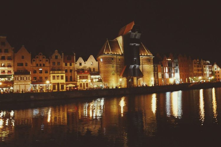 Gdańsk. Żuraw MyTrojmiasto Gdanskbynight Relaxing I Love It ❤ Summer ☀ Holidays ☀ Good Night Beautiful Night