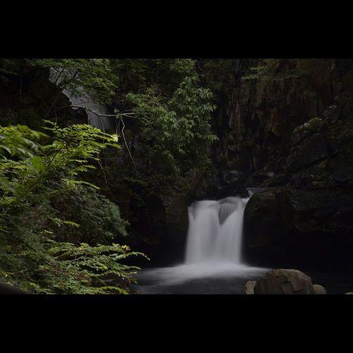 滝 風景 福島 土湯温泉