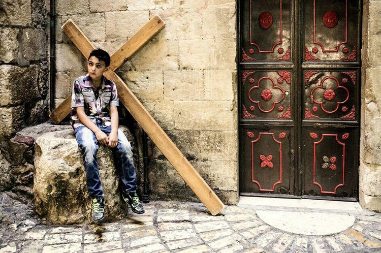Jerusalem Christian Quarter Streetphotography Candid