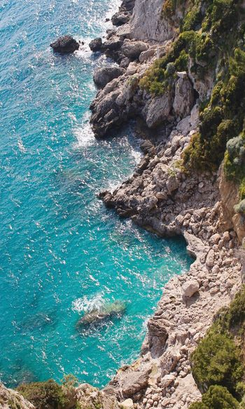 Aachen Capri Island Capri Water Beach Day Nature High Angle View Outdoors Sea UnderSea Scenics Beauty In Nature Swimming Pool Real People Sunlight