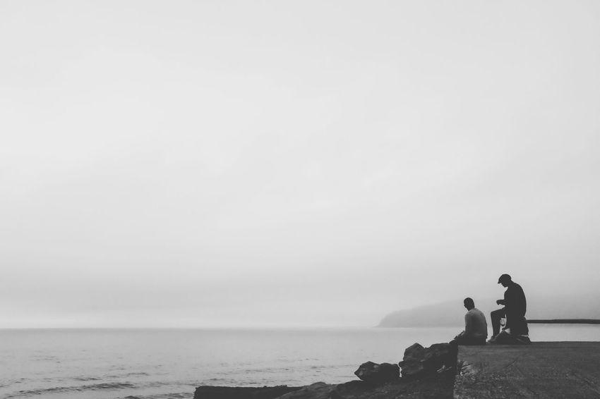 Silhouette Fuji X100s Contemplation Blackandwhite
