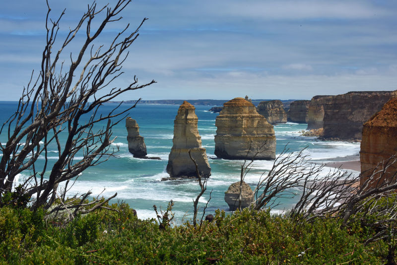 12 Apostles Beach Beauty In Nature Day Horizon Over Water Nature No People Ocean Outdoors Rock - Object Scenics Sea Sky Tranquil Scene Tranquility Water
