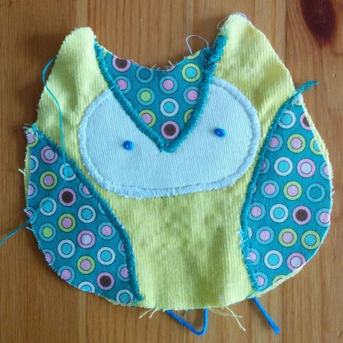 Hoot hoot! Something is cooking in the Sewing pot. This little Owl will be with its new owner soon enough. Weekend Project