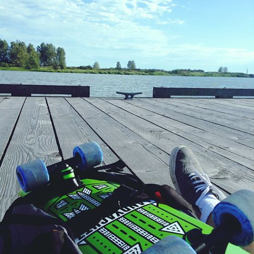 Skate and explore Longboard Richmond BC Steveston Steveston Village Docks