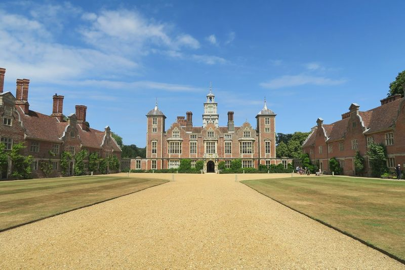 BlicklingHall Blickling Hall Blickling Estate National Trust Stately Home Arcitecture Arcitecturephotography Politics And Government City Government History Cityscape Sky Architecture Built Structure Cloud - Sky Travel