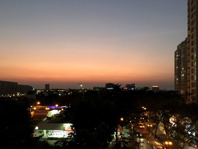 Love sky !! EyeEm Vietnam Cityscape Peaceful View EyeEm Nature Lover By Phone From My Point Of View From My Window Everning Sky Sundown
