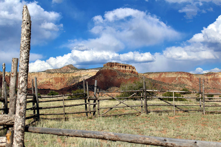 Abiquiu Abiquiu, NM Been There. Dramatic Sky Film Set Georgia O'keeffe Ghost Ranch  Great Outdoors Lost In The Landscape Movie Set Movie Prop New Mexico Scenic American Southwest Cattle Pens Clouds Landscape Magnificent Seven Red Rocks  Scenics The Great Outdoors