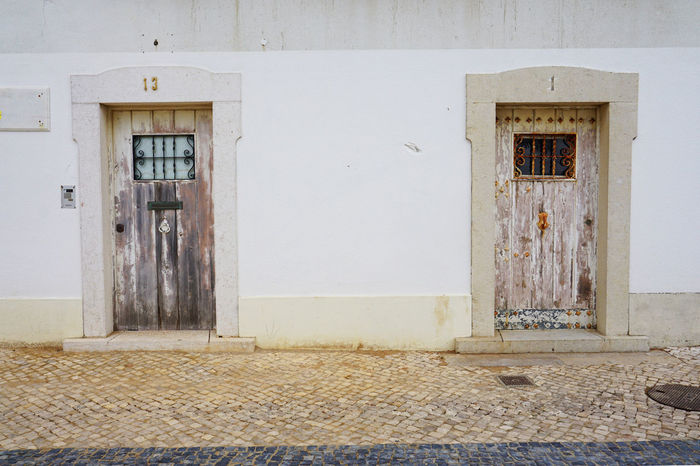 Architecture Built Structure Cascais City Closed Day Door Entrance Outdoors Portugal Street Town カスカイス ドア ポルトガル 2015