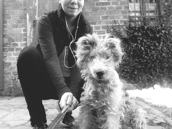 Blackandwhite Schwarzweiß Photooftheday Dog Selfie Taking Photos Followme First Eyeem Photo Funny Whatever Haha Funny Face 😜