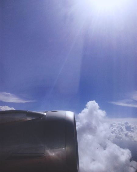 Second Time Flying With Friends Wonderful Day Cloud - Sky