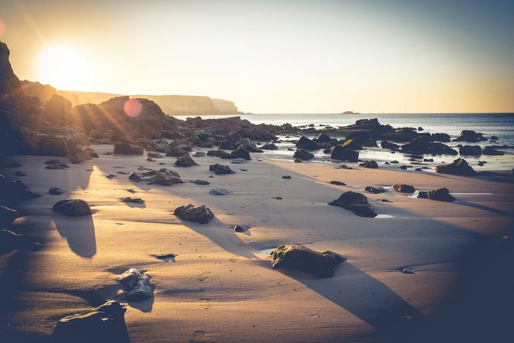 Sea Beach Sunset Water Horizon Over Water Vacations No PeopleThroughmyeyes Beauty In Nature Light And Shadow Fujifeed EyeEmNewHere Travel Photography Snapshot Live For The Story Landscape Nature Scenics Sunlight Sand Summer Sky Outdoors Beauty In Nature Day My Best Travel Photo