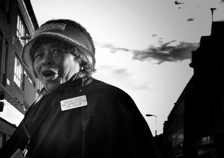 Sister Joyce world friend and savior Shootermag Blackandwhite Streetphotography The Human Condition The Street Photographer - 2015 EyeEm Awards The Art Of Street Photography