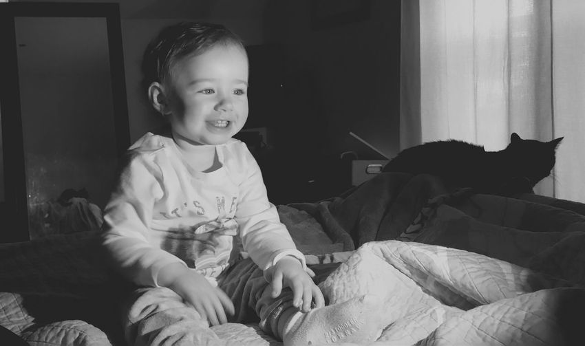 The happiest kid! Some early morning goofiness. Blackandwhite Black & White Blackandwhite Photography Black And White Photography Cats Meow Amazing Kids Being Kids Kidsphotography Children Massachusetts