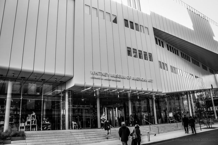 Whitney Museum, NYC New York City New York New York ❤ Newyorkcity New York City Photos Black & White Blackandwhite Photography Black And White Black And White Photography Architecture Museum