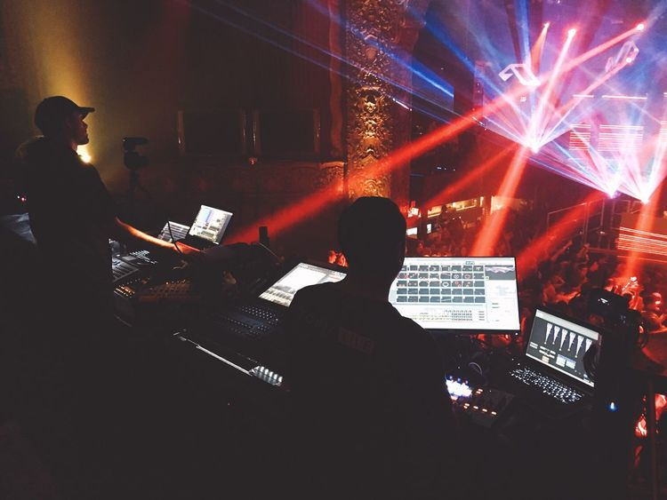 LA Night Life ⌨💻🎛 Music Nightlife Performance Event Nightclub [ Shot With iPhone 6s+ / Edit With Vsco ]